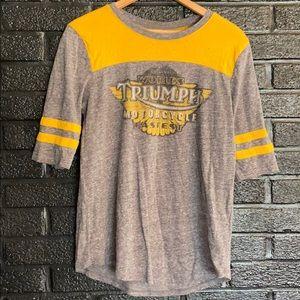 Lucky brand baseball T size medium